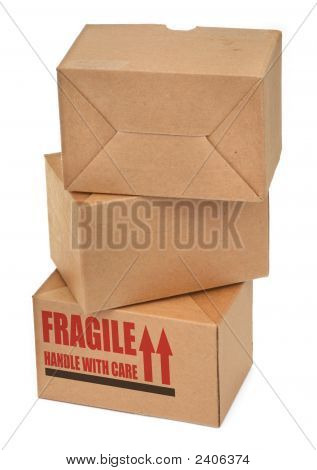 Stack Of Cardboard Boxes