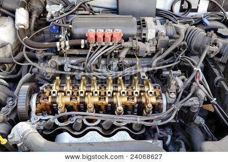Lpg Converted Engine