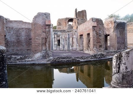 The Ruins And Remains Of An Ancient Roman City Of Lazio - Italy 233