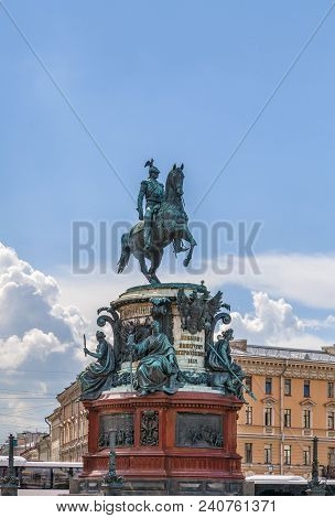 Monument To Nicholas I, Saint Petersburg, Russia