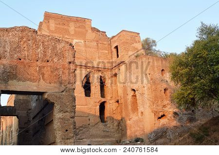 The Ruins And Remains Of An Ancient Roman City Of Lazio - Italy 222