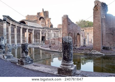 The Ruins And Remains Of An Ancient Roman City Of Lazio - Italy 231