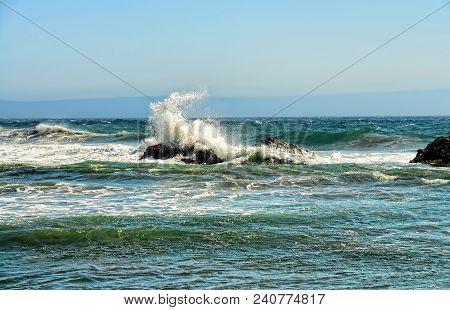 Pacific Ocean Asilomar State Marine Reserve California