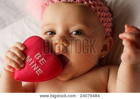 Baby Herz essen