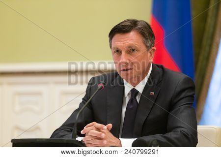 President Of The Republic Of Slovenia Borut Pahor