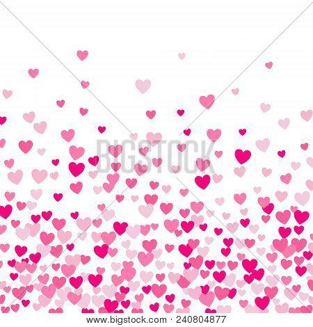 Cute Little Hearts Background, Random Ordeer