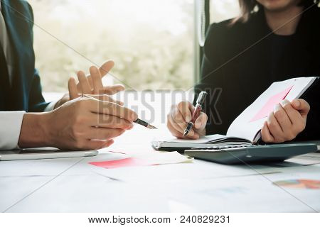 Business People In Casual Clothes Meeting Design Ideas Concept For Brainstorm New Strategy Of Develo