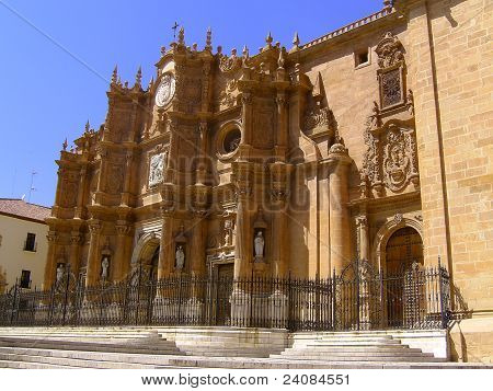 Guadix Cathedral Baroque Face