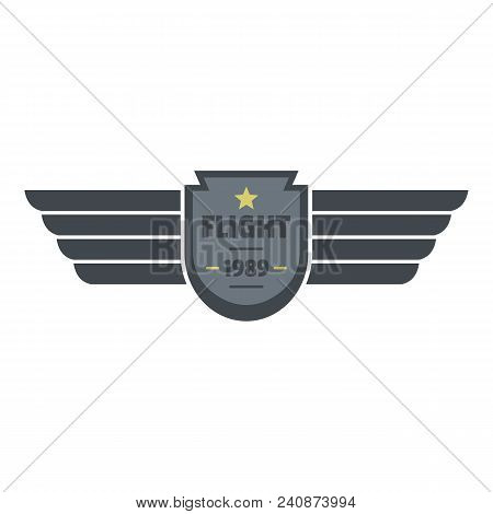 Flight 1989 Icon Logo. Flat Illustration Of Flight 1989 Vector Icon Logo For Web Design Isolated On
