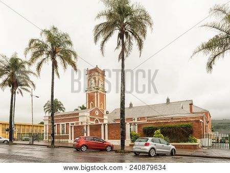 Greytown, South Africa - March 22, 2018: A Street Scene With The Town Hall In Greytown In The Kwazul