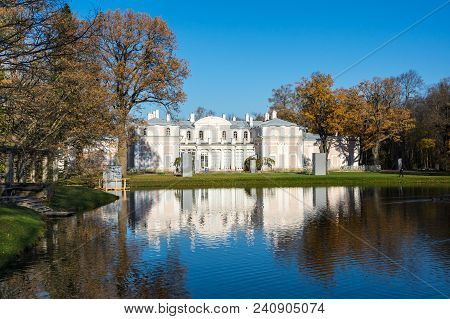 Saint- Petersburg, Russia - October 19, 2016: Chinese Palace In Oranienbaum, A Russian Royal Residen
