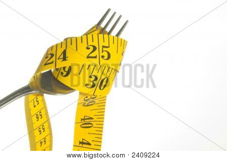 Gewicht-Verlust-Konzept