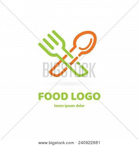 Vector Design Cooking Logo. Food Pictogram, Cooking Abstract Icon