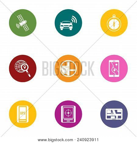 Remote Maintenance Icons Set. Flat Set Of 9 Remote Maintenance Vector Icons For Web Isolated On Whit
