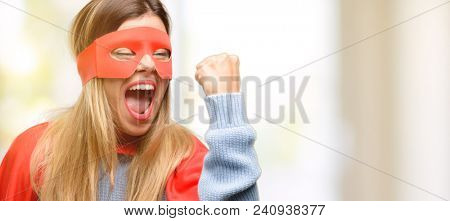 Young  woman irritated and angry expressing negative emotion, annoyed with someone