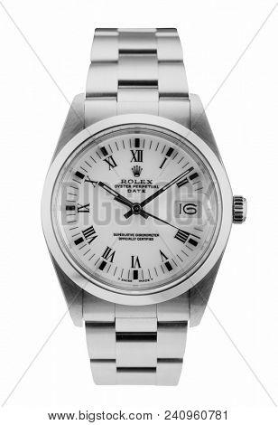 Rolex Oyster wrist watch, luxury and prestige status symbol