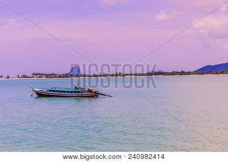 A Very Beautiful View Of Ko Yao Yai, Phang-nga Islands, South Of Thailand