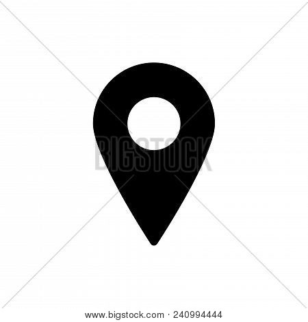 Locating Icon Vector In Modern Flat Style For Web, Graphic And Mobile Design. Locating Icon Vector I