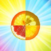 fruit mix poster