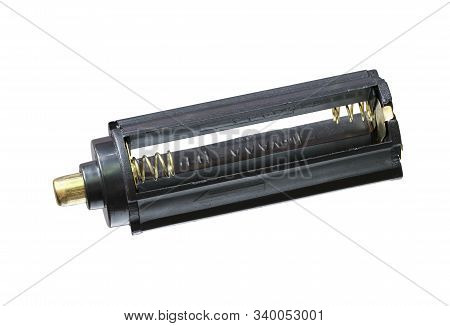 Aaa Battery Holder Converter (with Clipping Path) Isolated On White Background
