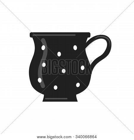 Coffee And Tea Cup . Teatime Mug Vector Icon In Cartoon Style.
