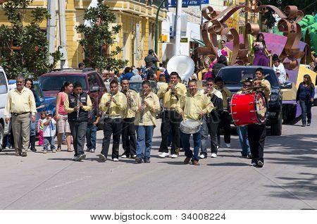 Mardi Gras Parade In Chapala Mexico
