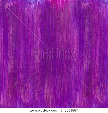 Bright Purple Watercolor Textured Background With Rough Strokes