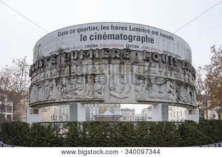 Lyon, France, Europe, 6th December 2019, View Of The Institute Lumiere Cinema, Archive And Museum Co