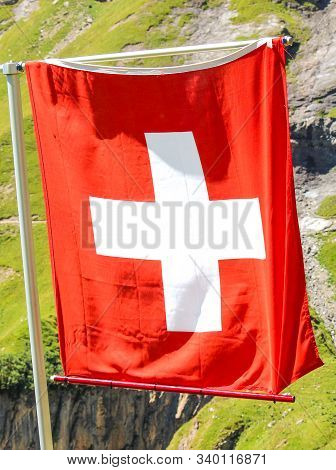 Waving National Flag Image Photo Free Trial Bigstock