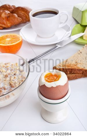 tasty and nutritious breakfast meal
