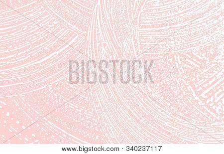 Grunge Texture. Distress Pink Rough Trace. Grand Background. Noise Dirty Grunge Texture. Quaint Arti