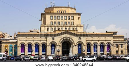 Yerevan,armenia - August 02,2012:historical Museum Of Armenia In Yerevan.the Museum Was Founded In 1