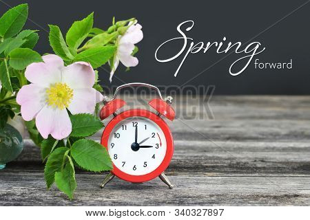 Spring Forward. Summer Time Change. Daylight Saving Time