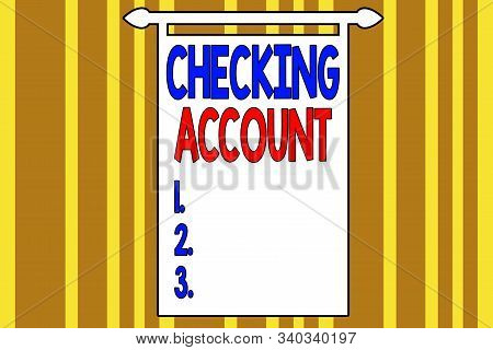bank account meaning
