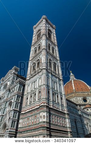 The Cathedral Of Santa Maria Del Fiore Was Begun In 1296 In The Gothic Style To A Design Of Arnolfo