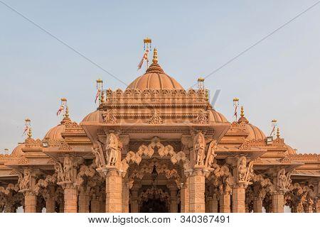 Baps Shree Swaminarayan Temple In Diamond Harbour Rd, Kolkata, West Bengal India On December 2019
