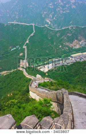 Steps Of The Great Wall