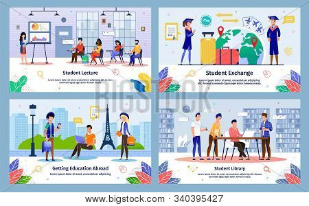 Student Exchange Program, College Lectures Courses, Abroad Education, University Library Services Tr