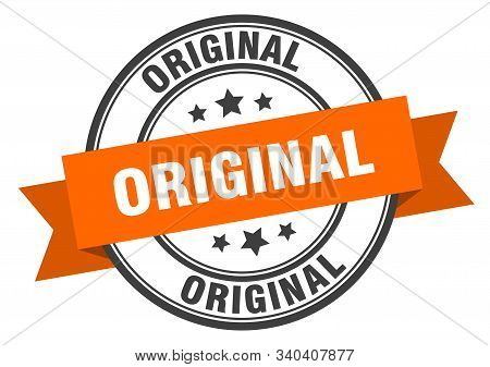 Original Label. Original Orange Band Sign. Original