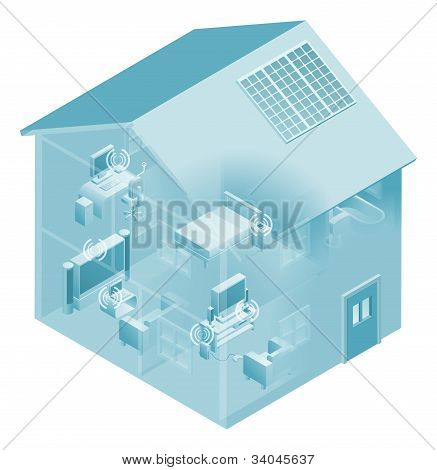 Home Local Area Network House