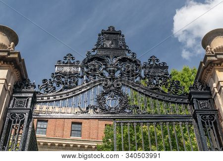 University Park, Pa/usa - September 28, 2019: On The Campus Of Penn State University.