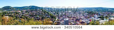 Panorama Of City Suhl Cityscape Cityview Germany