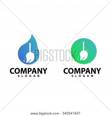Clean Logo Template, Design Vector Illustration Icon