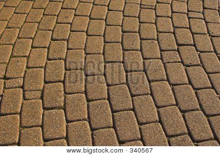 Cobbled Paving Stones
