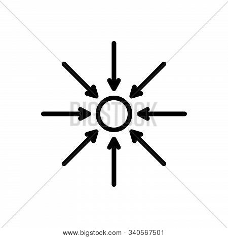Black Line Icon For Actually Actuality Genuineness Reality Tangibility Entity