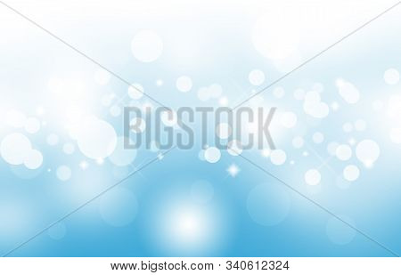 Abstract Bokeh Background In Blue With Copy Space,abstract Wallpaper,de Focus,blurry Pattern,blue Bo