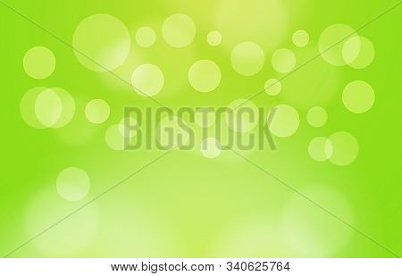 Abstract Bokeh Background In Green With Copy Space,abstract Wallpaper,de Focus,blurry Pattern,green