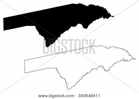 Zambezi Region (regions Of Namibia, Republic Of Namibia) Map Vector Illustration, Scribble Sketch Ca