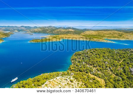 Cliffs Above The Sea On The Shore Of Nature Park Telascica, Island Of Dugi Otok, Croatia, Spectacula