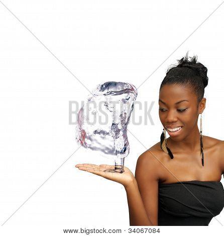 Beautiful Young Woman, Hostess (3)